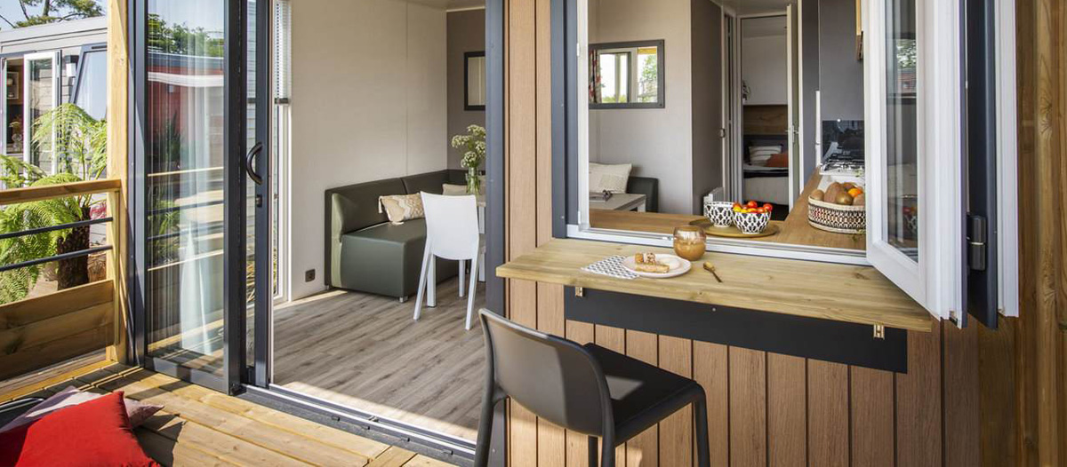 Terrasse Mobile-home Living