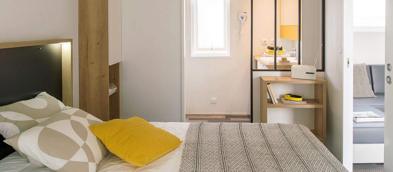 Chambre mobile-home New-Valley