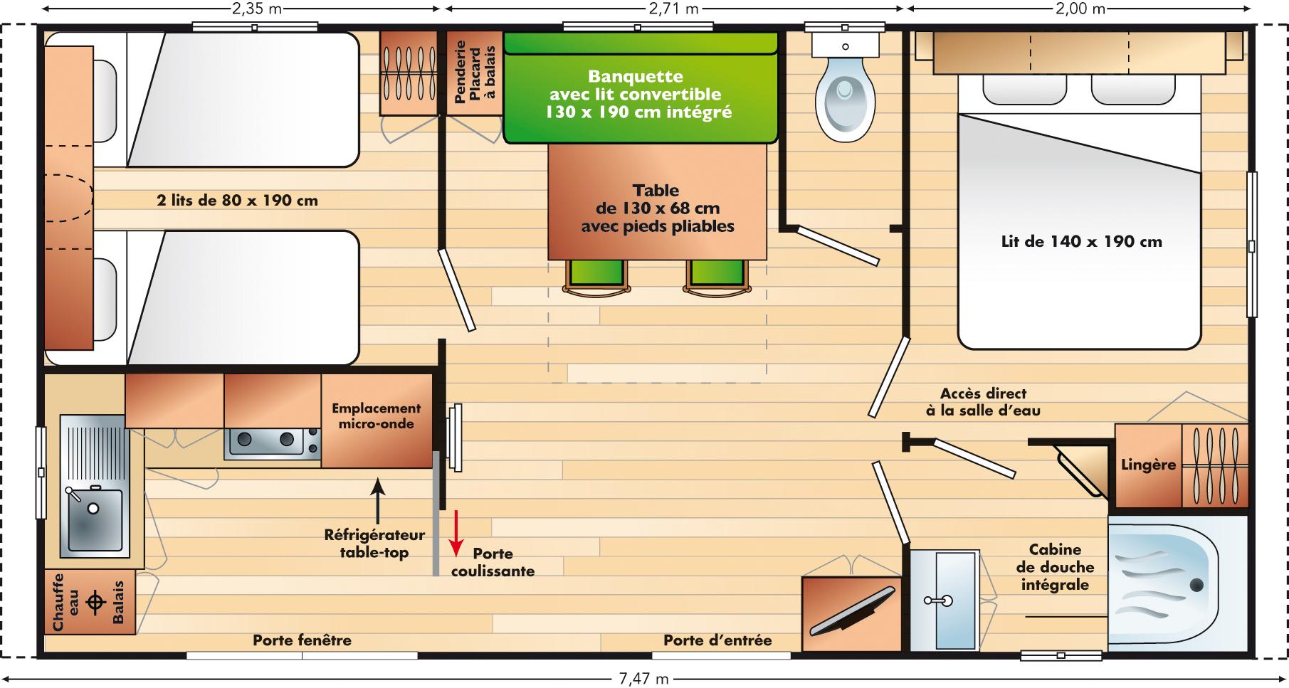 Chalet Homes Mobil Home Rivi 233 Ra 224 La For 234 T Fouesnant Au Camping De Penn